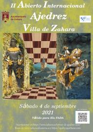 II Abierto Internacional de Ajedrez Villa de Zahara